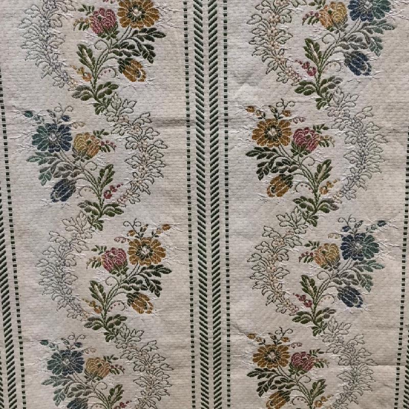 MARGARITAS GREEN-GOLD by Redelman. Click to view fabric...