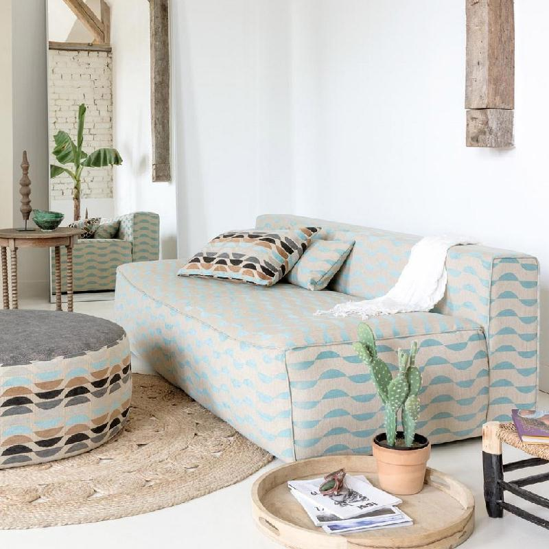 SOUTH BEACH COLLECTION by Zepel. Vibrant modern designs. Wave, stripe and plain. FibreGuard Stain-resistant technology. See fabrics...
