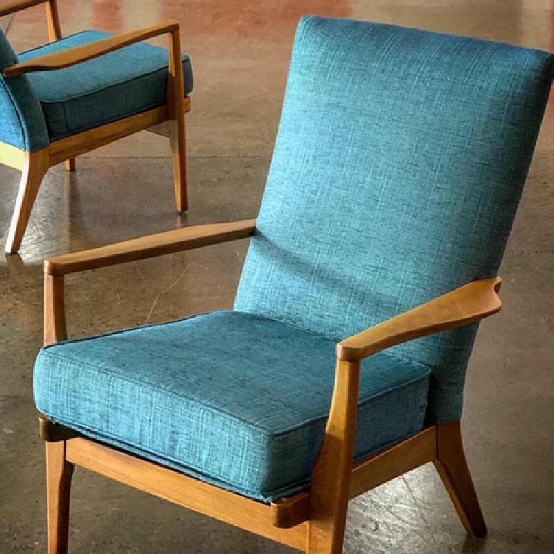 FLYNN RANGE by Warwick. Textured vintage weave with a soft feel. Popular for mid-century sofas and armchairs. Stain-free Halo Brand. View Fabrics...
