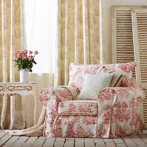 VILLANDRY COLLECTION by Warwick. Huge selection of traditional fabrics including stripes and linen coordinates. Click here to view the full collection....