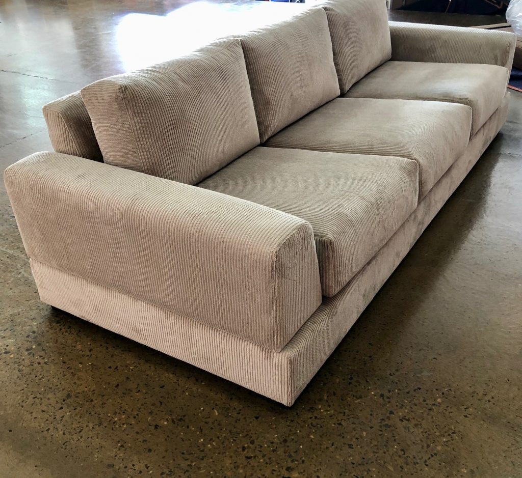 Recover modern sofa.