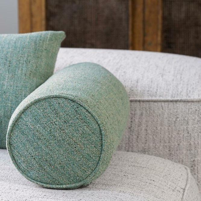 MINGLE MANGLE by Zepel. Mid-century vibe textured fabric. Easy-clean fabric. See fabrics...