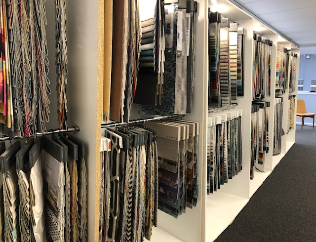 Fabric showroom. Huge range of fabrics to choose from... see more