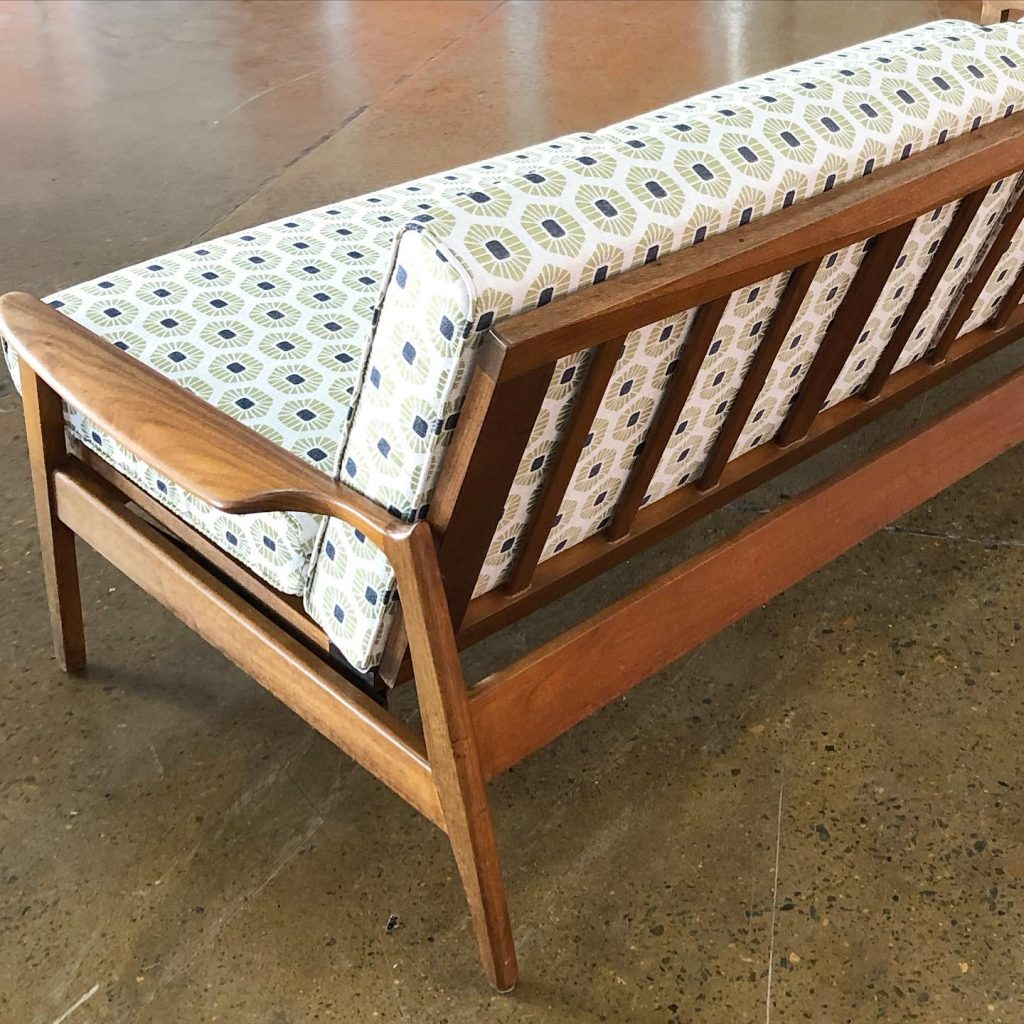 Restoration and reupholstery Fler daybed... see more