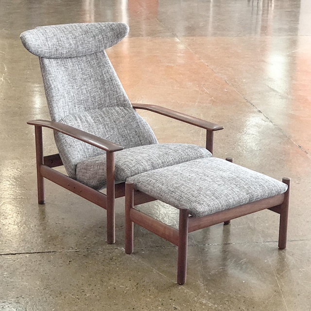 Restoration and reupholstery of Norwegian armchair by Sven Ivar Dysthe... see more