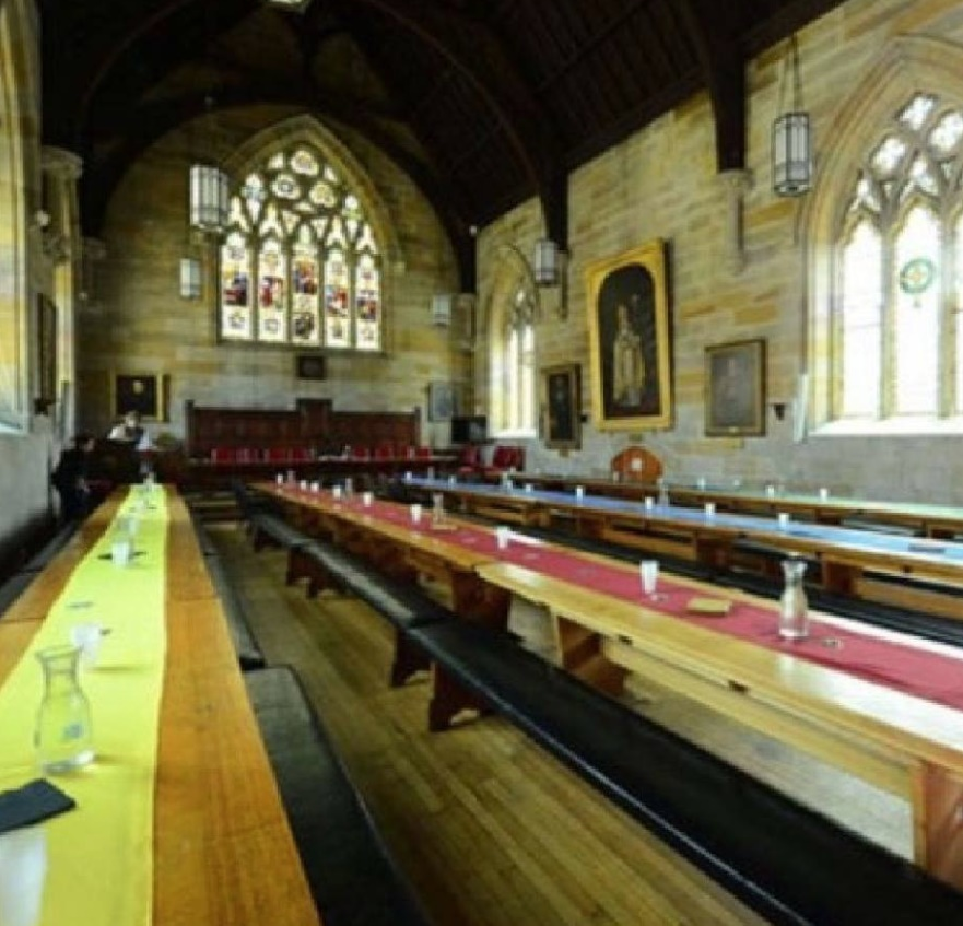 St John's College Great Hall Harry Potter make over. Click here to see more...